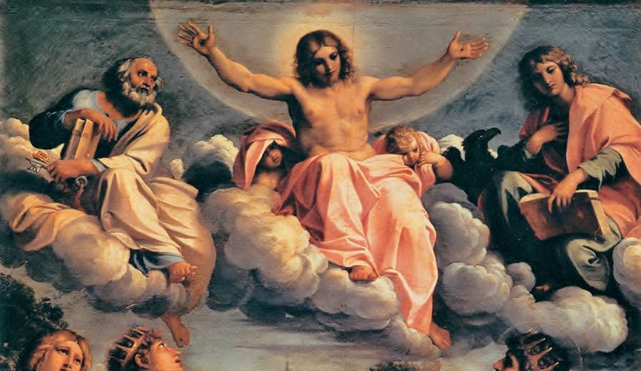 Carracci - Christ in Glory